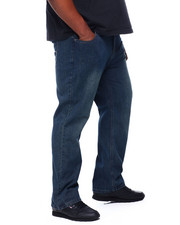 Jeans & Pants - Stone Wash Sand Blast Denim Pants Relaxed Straight Fit (B&T)-2405364