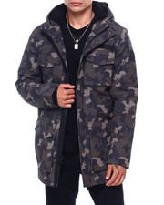 Black Friday Deals - CAMO SHERPA LINED HOODED PARKA-2415238