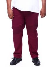 Big & Tall - Biker Style Twill Pants (B&T)-2393443