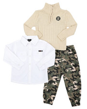 Enyce - 3 PC Sweater Set (2T-4T)-2410727