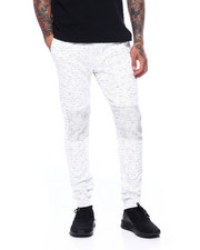 Joggers - PRINTED SPACE DYE MOTO TWILL JOGGER-2415125
