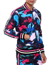 Track Jackets - JAPANESE GARDEN TRACK TOP-2415088