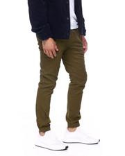 Mens-Fall - Side Pocket Twill Jogger-2415083