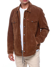 Mens-Fall - FAUX SUEDE VINTAGE SHACKET-2415189