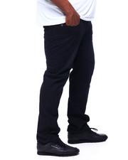 Big & Tall - Men's Straight Fit Sand Blast Washed Jeans (B&T)-2400851