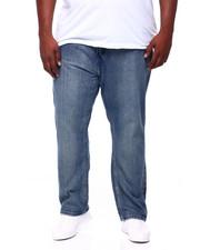 Buyers Picks - Stone Wash Sand Blast Denim Pants Relaxed Straight Fit (B&T)-2405408