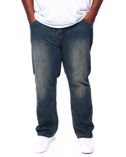 Jeans & Pants - Stone Wash Sand Blast Denim Pants Relaxed Straight Fit (B&T)-2405397