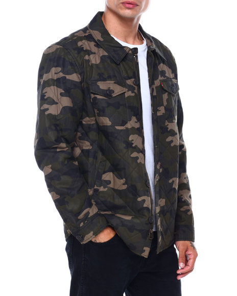Levi's - DIAMOND QUILTED SHACKET
