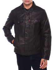 Levi's - Faux Leather Classic Trucker Jacket-2415194
