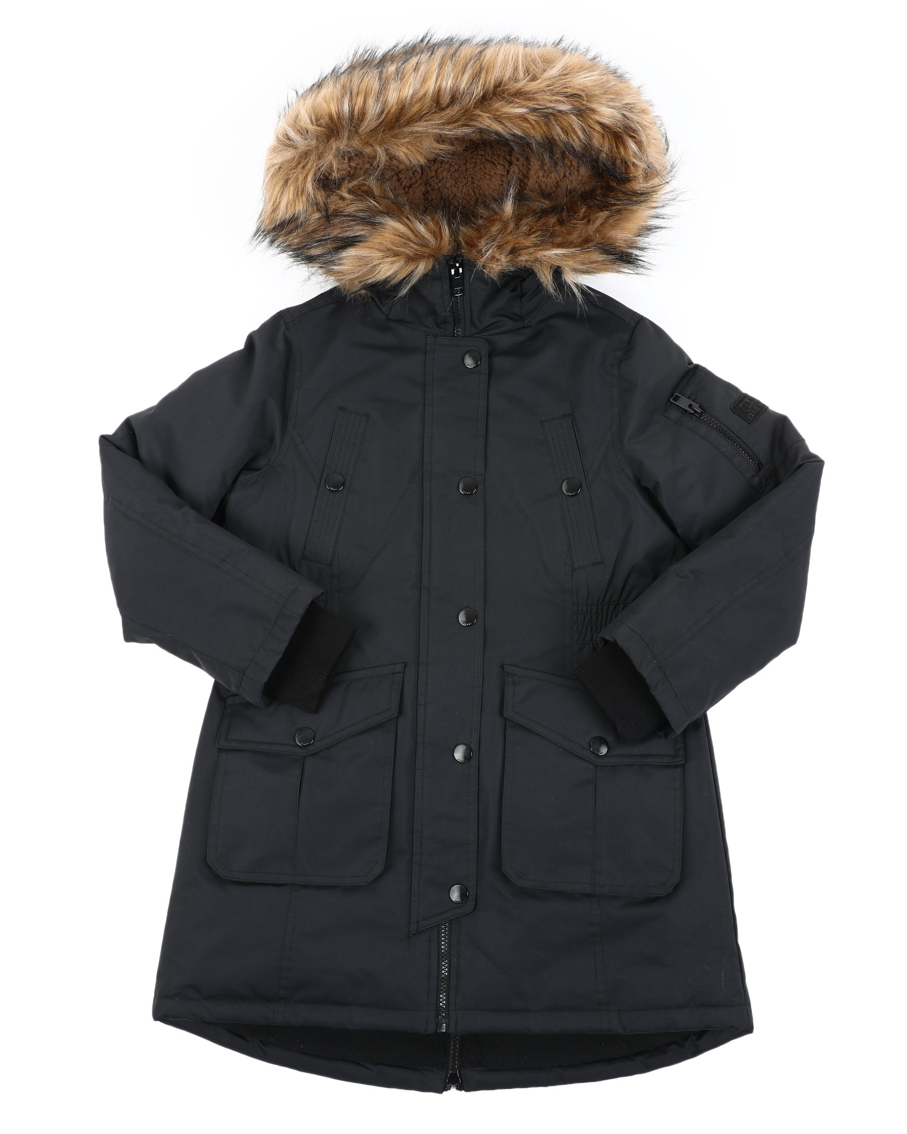 Nautica Big Girls/' Quilted Hooded Jacket Sizes 7-16