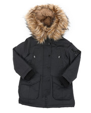 Girls - Heavy Weight Parka Jacket (4-6X)-2413856