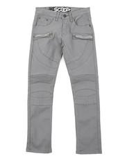 Boys - Stretch Denim Moto Pant W/Zipper (8-18)-2414938