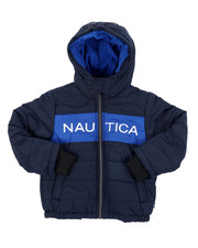 Nautica - Color Block Bubble Jacket (4-7)-2414881