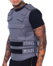 Vests - Twill Embroidered Tactical Vest-2416187
