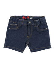 Girls - Denim Shorts (4-6X)-2415688