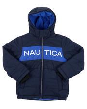 Heavy Coats - Color Block Bubble Jacket (8-20)-2414886