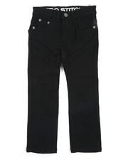 Arcade Styles - Stretch Denim Moto Jeans (4-7)-2414990