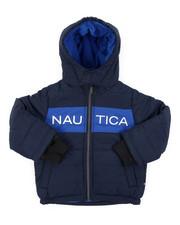 Outerwear - Color Block Bubble Jacket (2T-4T)-2414877