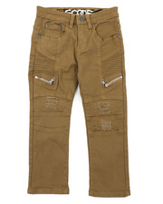 Boys - Rip & Repaired Stretch Denim Moto Jeans (4-7)-2414964