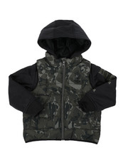 Light Jackets - Ravine Hybrid Jacket (4-7)-2416154