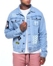 Denim Jackets - Stay woke media denim jacket-2416182