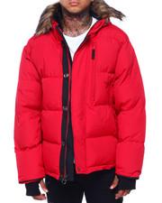 Buyers Picks - Golden Peak Puffer coat w Faux Fur Trim-2415978