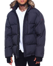 Buyers Picks - Golden Peak Puffer coat w Faux Fur Trim-2415996