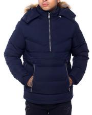 Jordan Craig - Faux fur Quilted Anorak Jacket-2415854