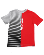 Boys - Cut And Sew Logo Tee (8-20)-2415720