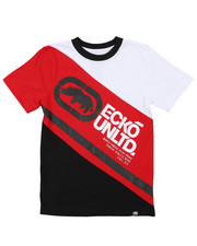 Boys - Cut And Sew Logo Tee (8-20)-2415742