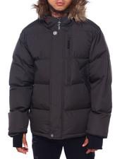 Buyers Picks - Golden Peak Puffer coat w Faux Fur Trim-2415990