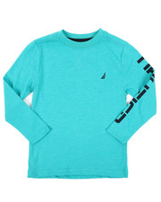 Nautica - Solid Long Sleeve T-Shirt (4-7)-2416596