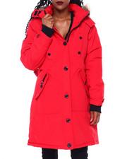 Canada Weather Gear - CWG Long Parka W/Faux Fur Trim Hood-2415410