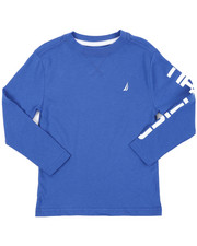 Nautica - Solid Long Sleeve T-Shirt (4-7)-2416591