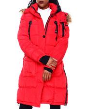 Outerwear - CWG Bubble Jacket W/Faux Fur Trim Hood-2416300