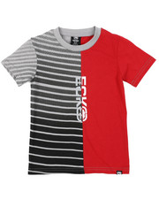 Boys - Cut And Sew Logo Tee (4-7)-2416211
