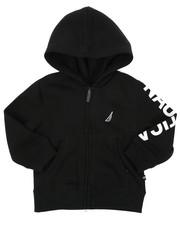 Nautica - Long Sleeve Logo Hoodie (2T-4T)-2414925