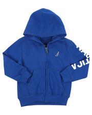 Hoodies - Leon Sleeve Logo Hoodie (2T-4T)-2414929