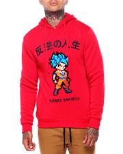 Men - Kanji Anime Hoodie-2415659