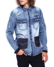 Preme - Tokyo raw denim shirt-2416657