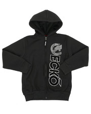 Boys - Regular Fleece Hoodie (8-20)-2417037
