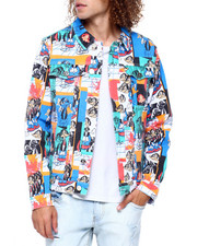 Reason - COLLAGE DENIM JACKET-2417142