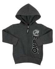Boys - Regular Fleece Hoodie (4-7)-2417092