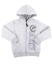 Boys - Regular Fleece Hoodie (8-20)-2417042