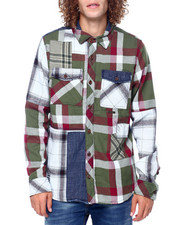 Preme - Plaid Colorblock Buttondown-2416688