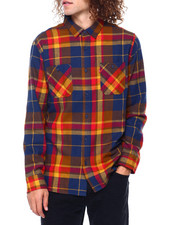 Mens-Fall - TUSKY FLANNEL LS SHIRT-2416754