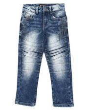 Arcade Styles - Flex Moto Denim Jeans (4-7)-2413529