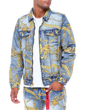 Reason - CHAIN DENIM JACKET-2417147