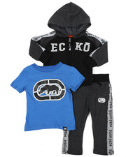 Boys - 3Pc Fleece Jogger Set (Infant)-2417452