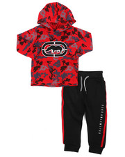 Sets - 2Pc L/S Jrsy Hooded Tee Jogger Set (2T-4T)-2417460